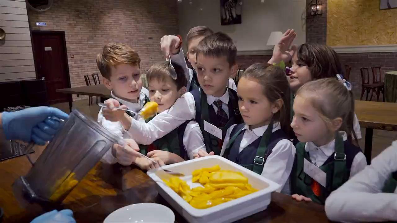 Детские кулинарные мастер-классы